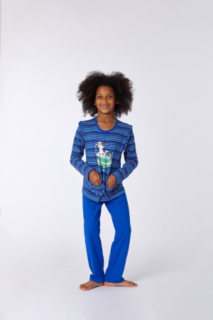 Meisjespyjama zakjes logo