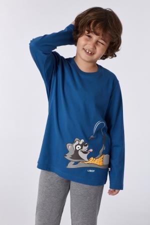 Jongens pyjama grote tekening 865