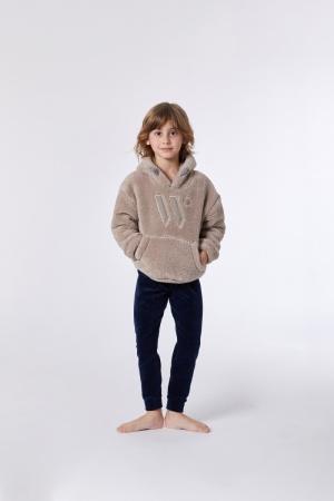 Jongens sweater en broek logo