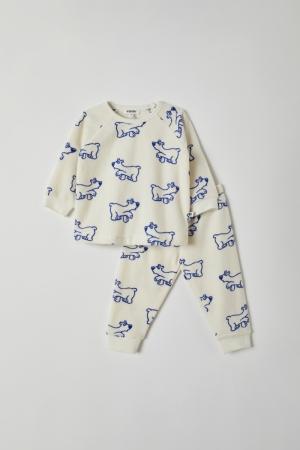 Pyjama unisex spons logo