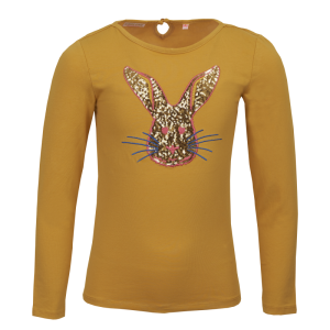 T-shirt konijn logo