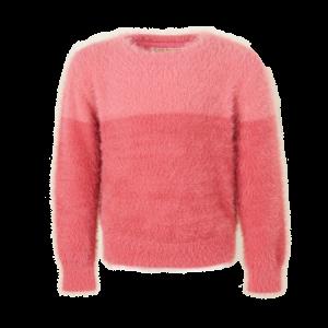 Pull tricot 2 kleuren logo