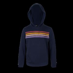 Sweater met kap logo