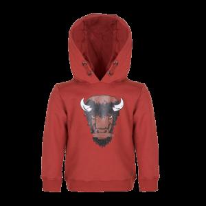 Hoodie met dier logo
