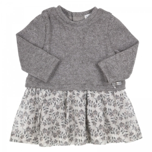 Kleed tricot, rok stof logo