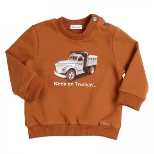 Sweater truck logo