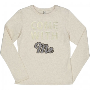 T-shirt Come with me logo