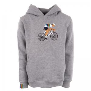Sweater met kap. logo
