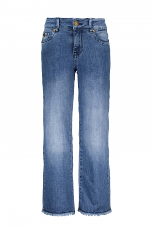 Jeans recht model logo