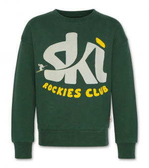 Sweater oversized ski logo