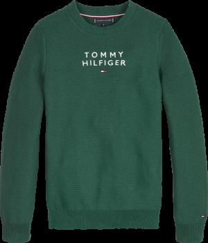 Sweater ronde hals logo