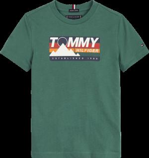 T-shirt km berg print logo