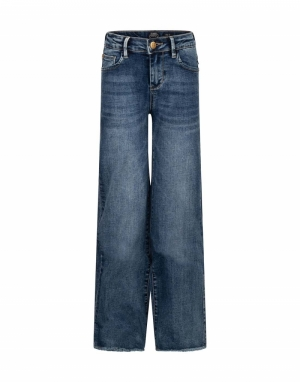 Jeans wide fit logo